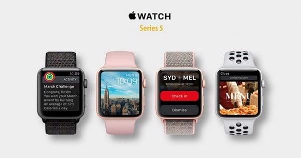Apple Watch series 5 sở hữu nhiều tính năng mới