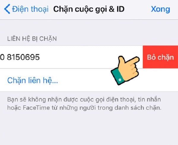 Fix lỗi iPhone Lock không nhận được cuộc gọi đến
