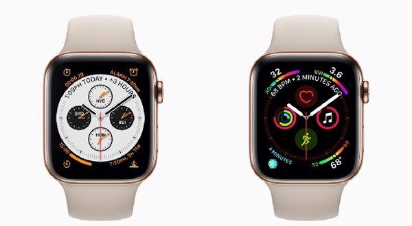 Đánh giá Apple Watch Series 3 (trái) và Apple Watch Series 4 (phải)