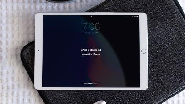 Khắc phục iPad bị vô hiệu hóa
