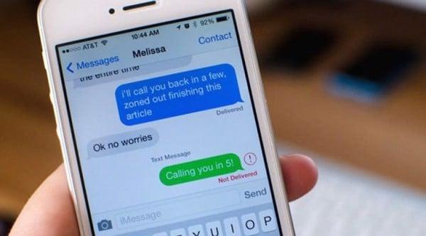 Fix lỗi iPhone Lock không gửi được tin nhắn