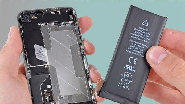 Kiểm tra pin điện thoại