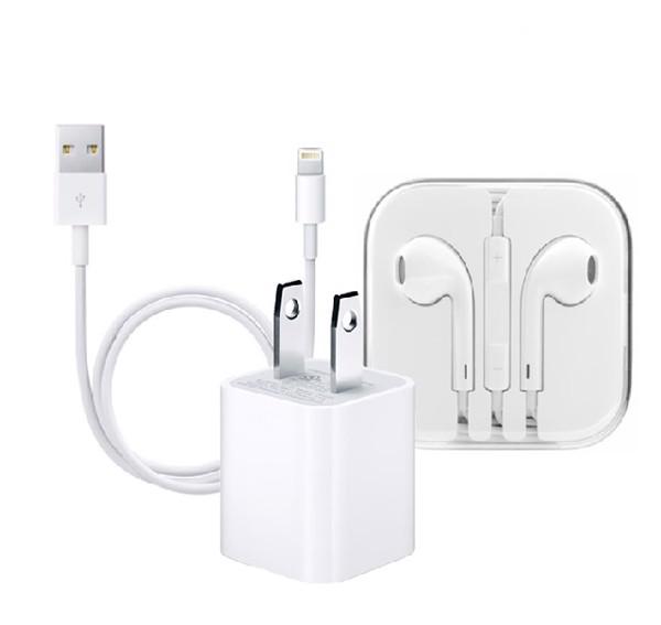 Tai nghe và sạc điện thoại Apple