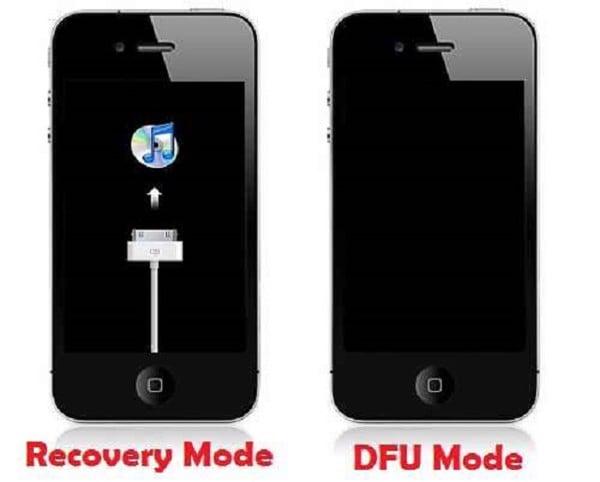 Chế độ DFU Mode Restore
