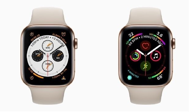 So sánh Apple Watch Series 3 và 4