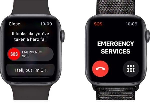 Tính năng phát hiện té ngã trên Apple Watch