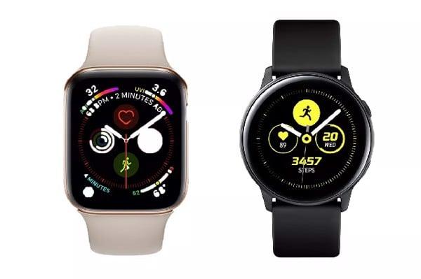 Watch Active 2 và Apple Watch Series 4 nổi bật với tính năng sức khỏe