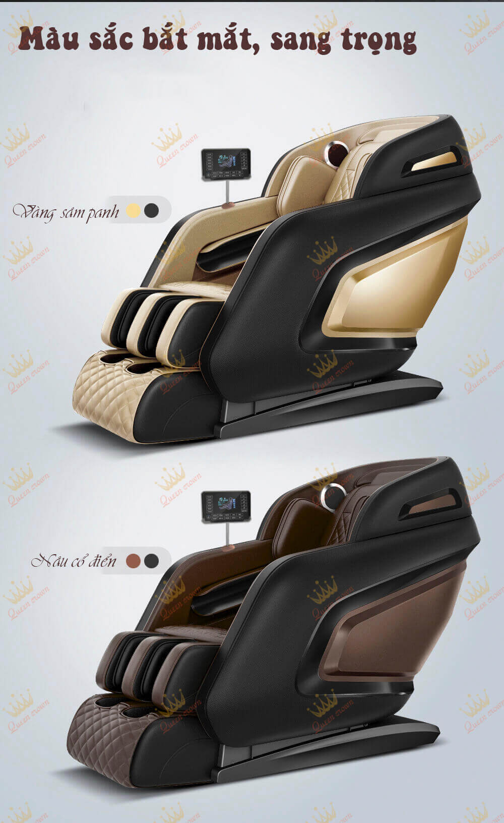 ghế massage queen crown qc cx5