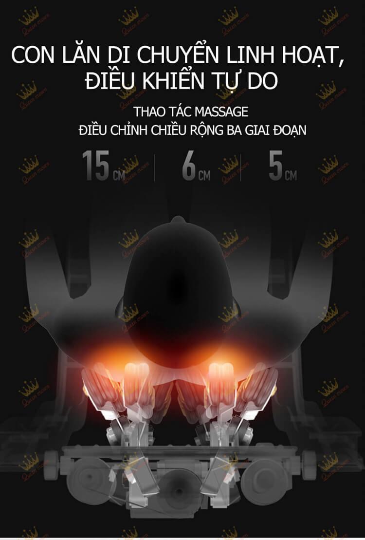Ghế massage Queen Crown QC CX8