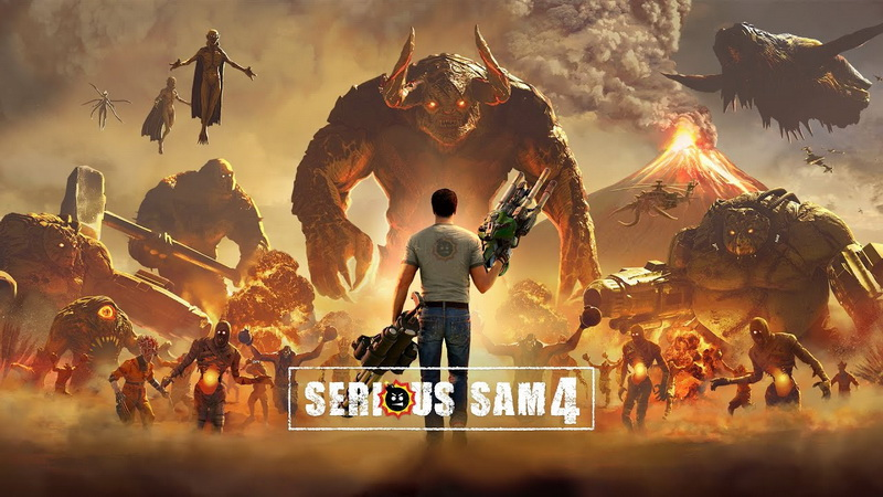 Huyền thoại Serious Sam 4 trở lại, kéo theo 100.000 kẻ địch xuất hiện cùng lúc trên màn hình