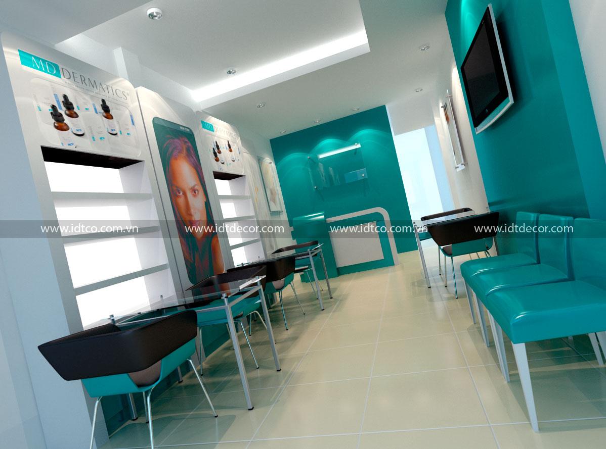 Thiết kế và thi công nội thất spa thẩm mỹ viện