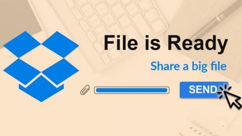 Dropbox Transfer: Hỗ trợ tối đa lên đến 100GB tệp cho tất cả người dùng