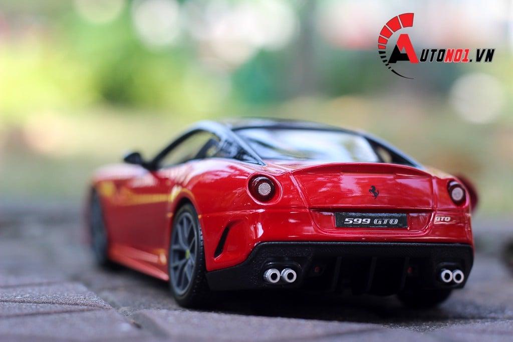 MÔ HÌNH XE FERRARI 599 GTO 1:24 BBURAGO 5232