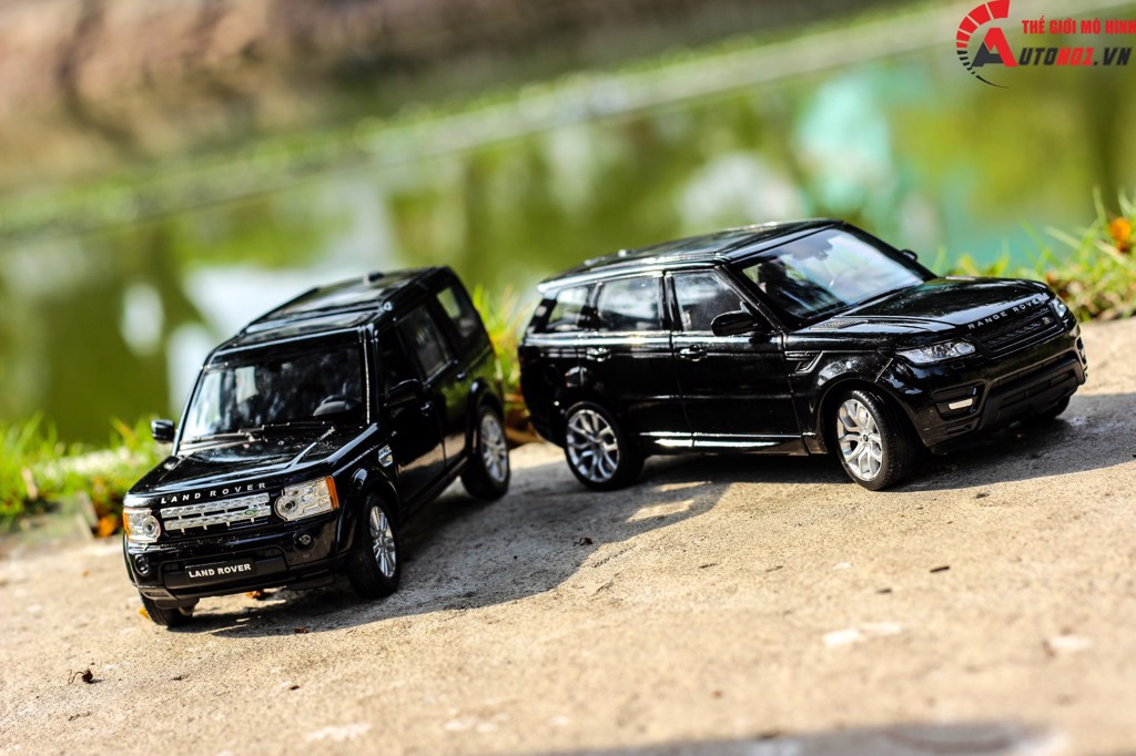 MÔ HÌNH LAND ROVER DISCOVERY 4 BLACK 1:24 WELLY 4399
