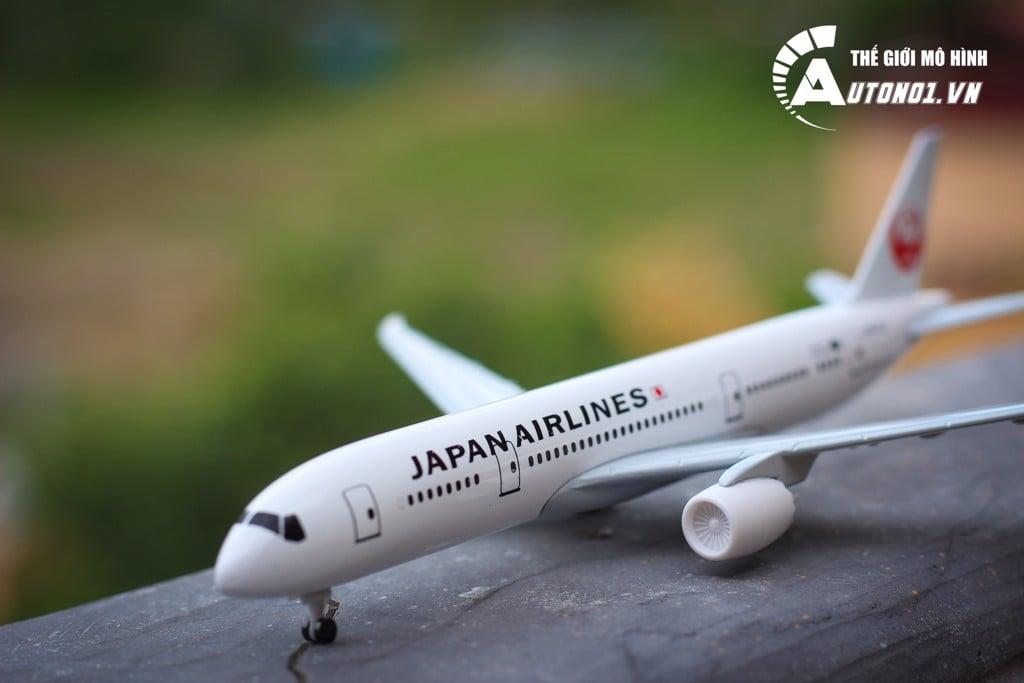 MÔ HÌNH MÁY BAY JAPAN AIRLINES 18CM EVERFLY 6272