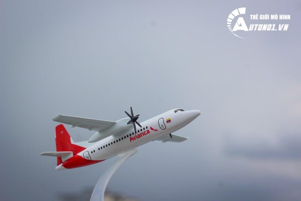 MÔ HÌNH MÁY BAY ATR72-600 AVIANCA 16CM 4483