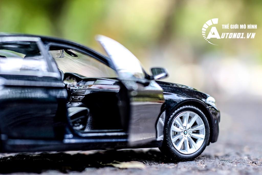 MÔ HÌNH XE BMW 535I BLACK 1:24 WELLY 1181