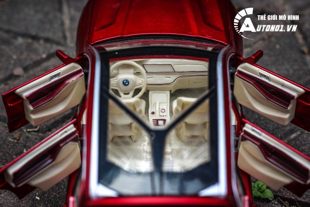 MÔ HÌNH XE BMW X7 RED 1:24 CHE ZHI 6224