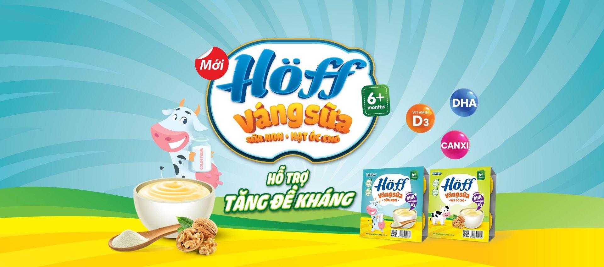 Váng sữa Hoff mới