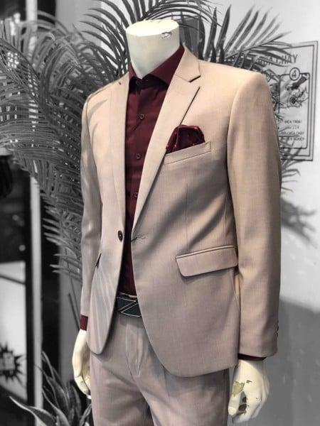 áo vest nam body form slimfit