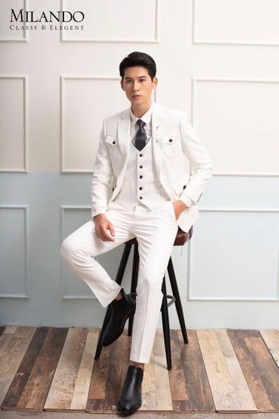 may đo áo vest cưới nam đẹp 2020