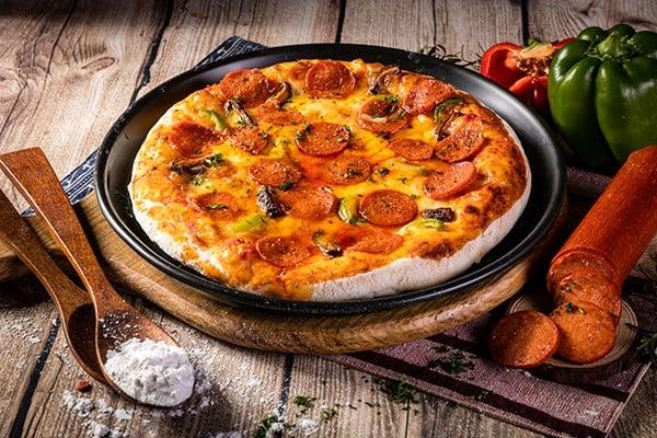 pizza-PEPPERONI-texgrill-haiphong- chiếc pizza ngon nhất thế giới