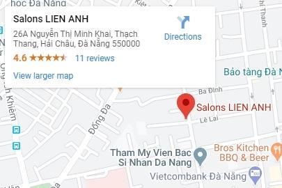 Bản đồ chỉ đường đến Lien Anh Clinic and Beauty