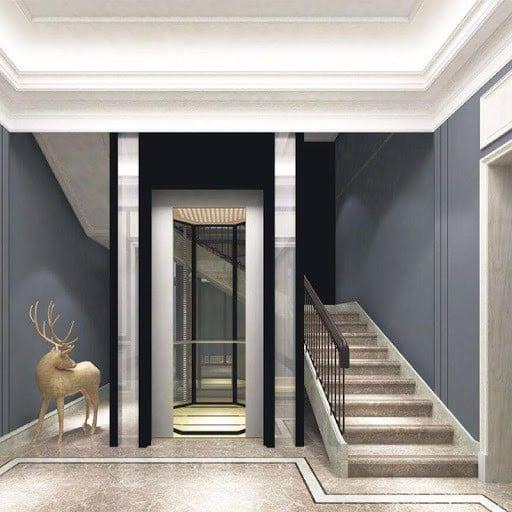 Ưu tiên yếu tố thẩm mỹ và sự hài hòa khi lắp đặt thang máy biệt thự