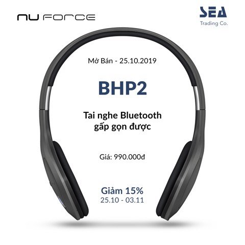 TAI NGHE BLUETOOTH NUFORCE BHP2 - CHIẾC