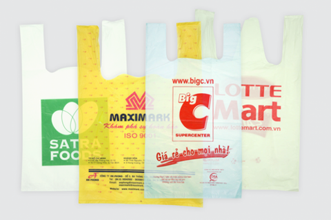 Why print advertising on plastic bag