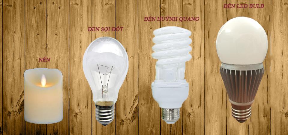 Quá trình phát triển của đèn qua các thời kỳ