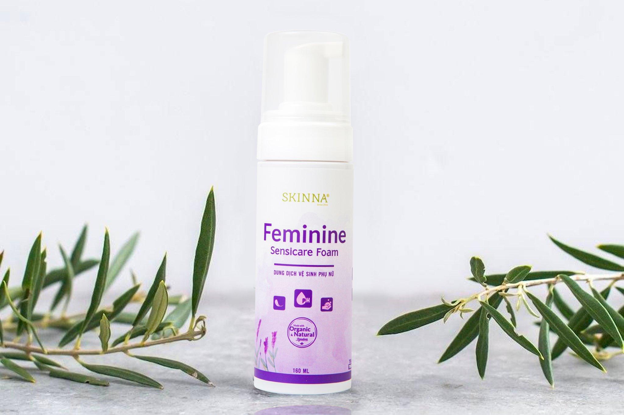 Chính thức ra mắt Dung Dịch Vệ Sinh Phụ Nữ - Feminine Sensicare Foam