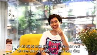 chị Hạnh- Khách hàng sử dụng dịch vụ điều trị Nha Chu