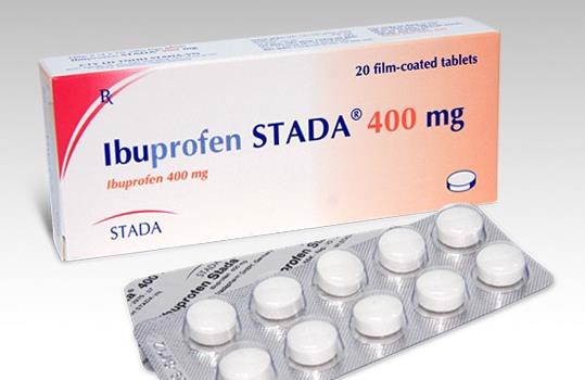 Ibuprofen là một loại thuốc giảm đau phổ biến để trị đau răng.