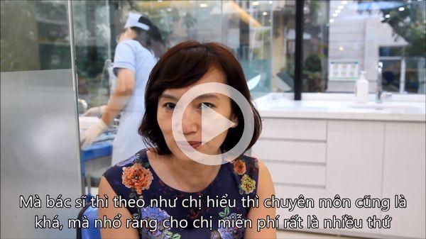 Ms. Nguyen Bich Ngoc - Implant patient