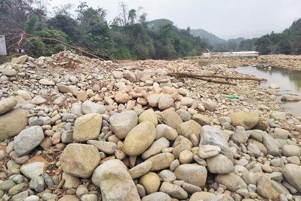 sỏi sông cho máy nghiền cát nhân tạo