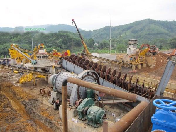 Dây chuyền nghiền tuyển quặng sắt 200 tấn/giờ