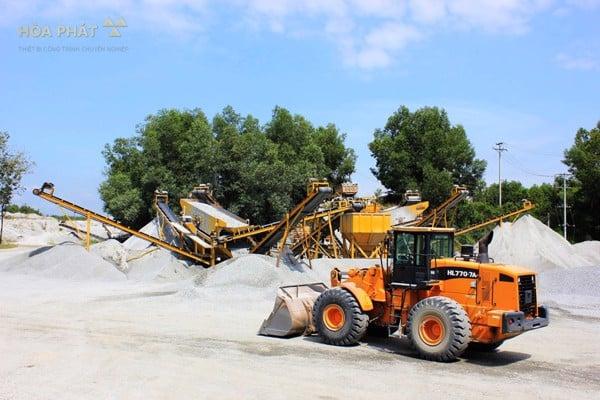 Dây chuyền nghiền đá trạm nghiền sàng đá công suất 150 tấn chất lượng chính hãng giá tốt