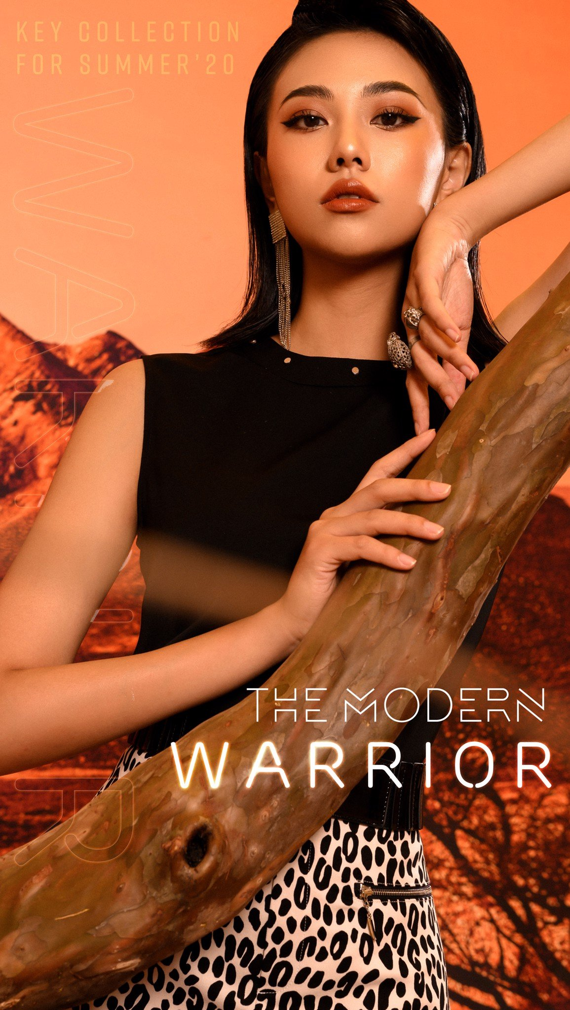 THE MODERN WARRIOR
