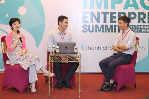 Images of Business Forum creating social impact 2019