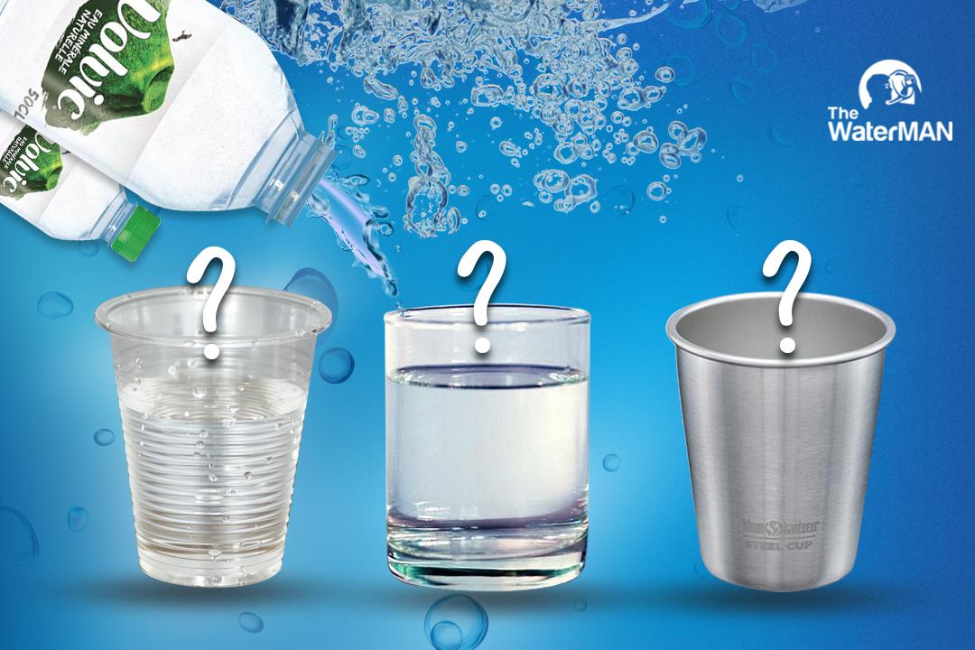 Ly uống nước làm bằng chất liệu gì là tốt nhất?