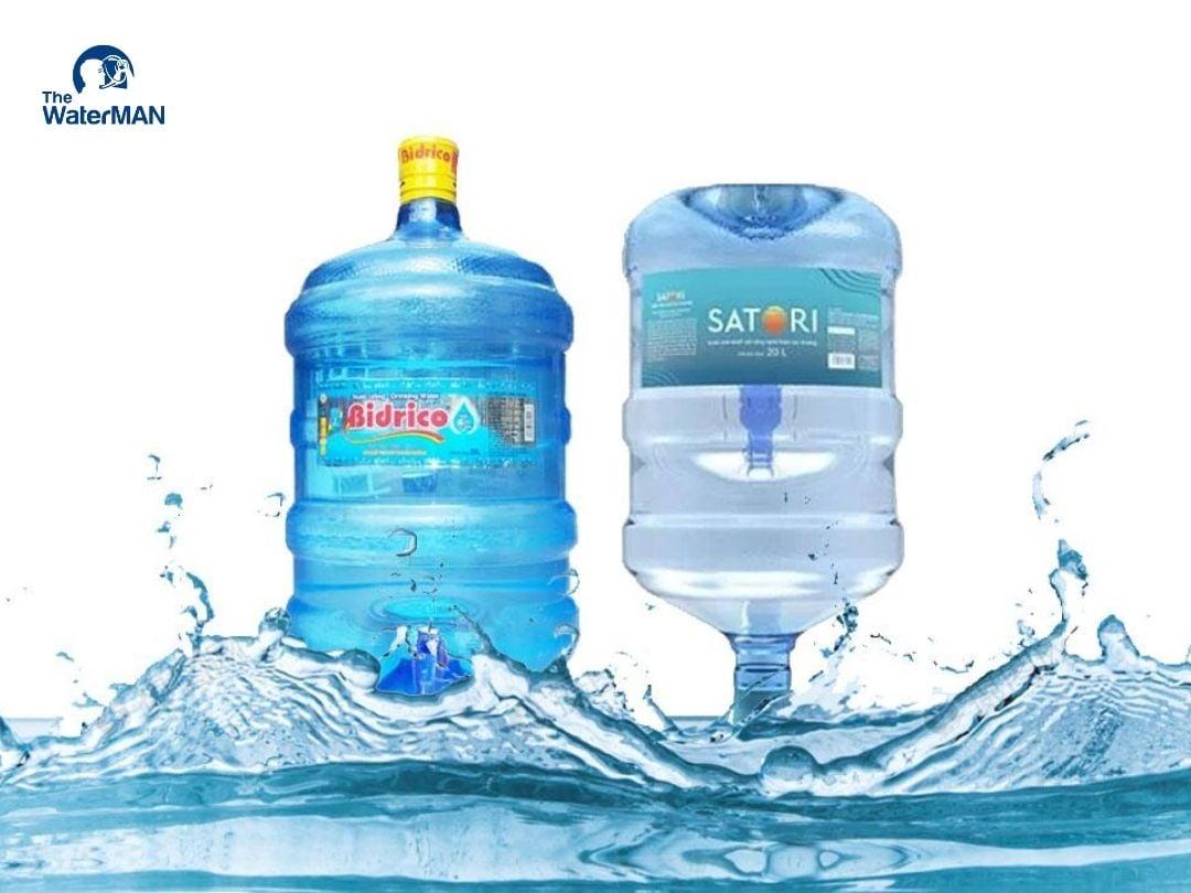 Nên chọn mua nước tinh khiết Bidrico hay Satori?