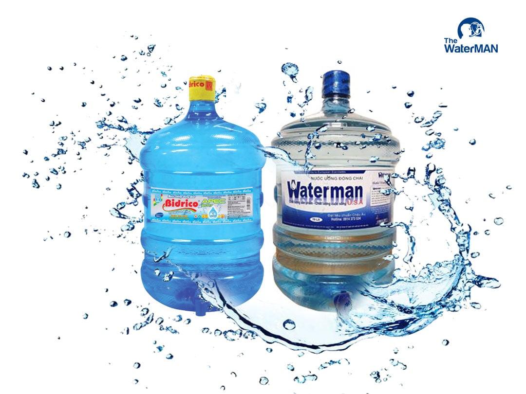 Nước tinh khiết Bidrico và Waterman có gì khác biệt?