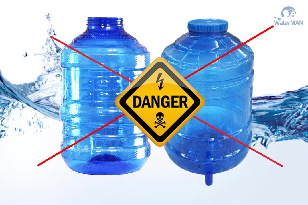Nước uống đóng bình giá rẻ: cẩn thận mang họa