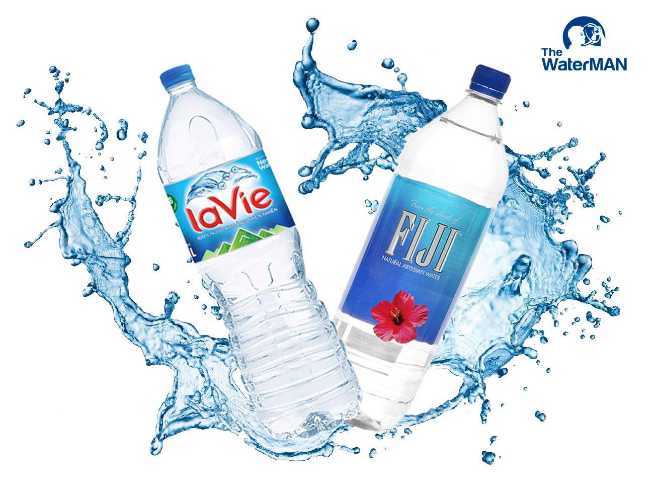 Nước khoáng Lavie và FIJI có gì khác biệt?