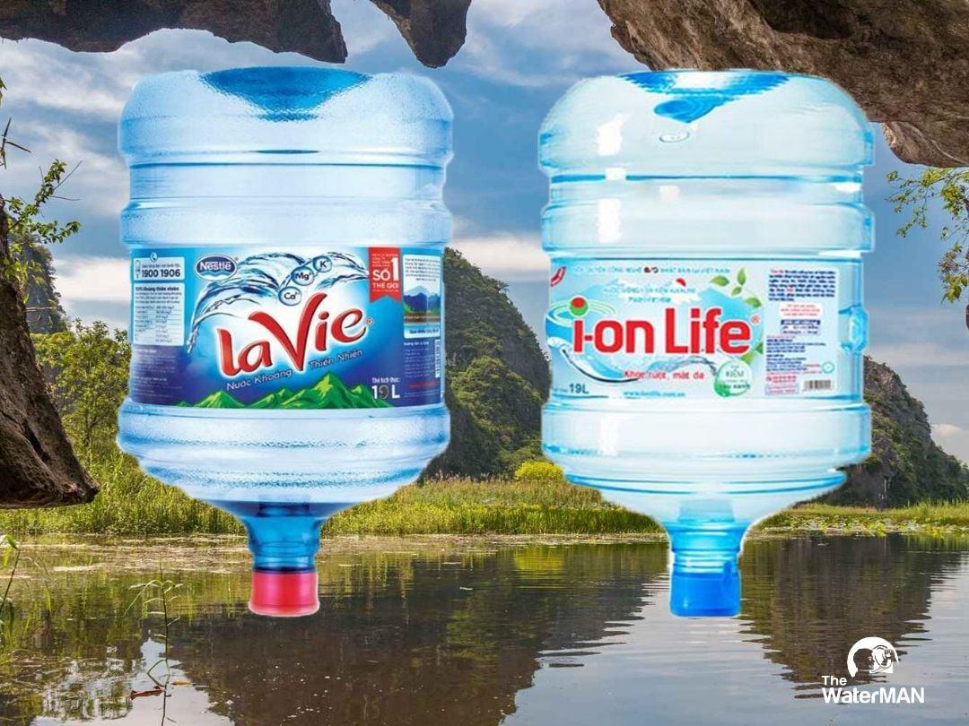 Nên chọn mua nước khoáng LaVie hay kiềm i-on Life?