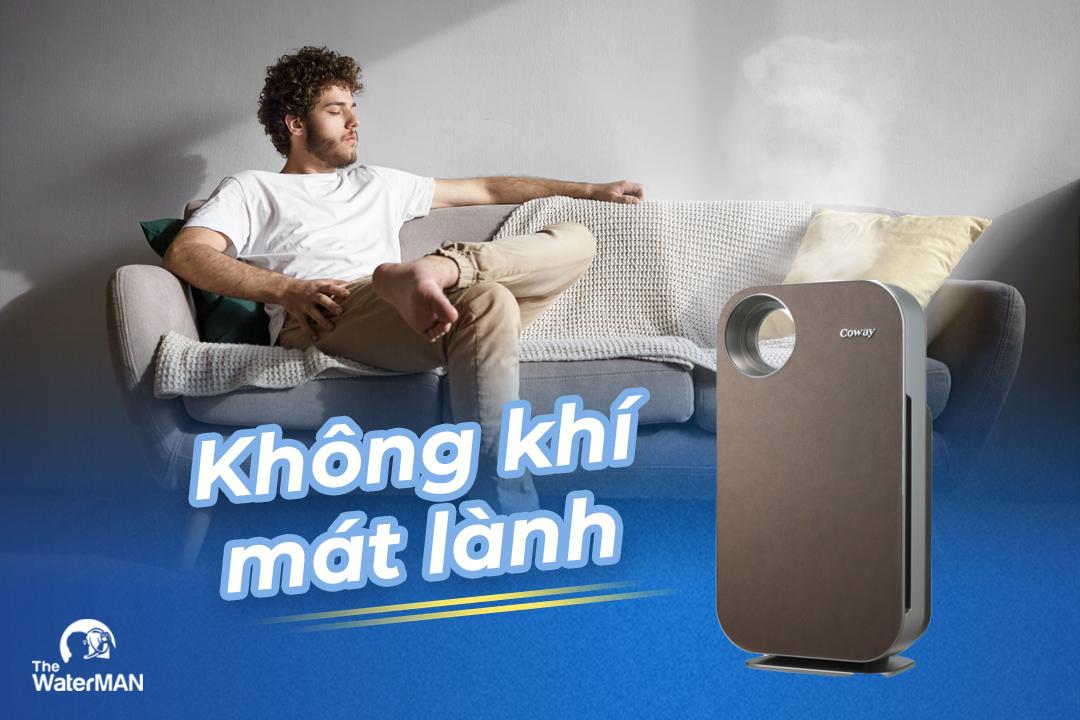 Vạch trần sự thật khi bỏ máy lọc không khí trong phòng ngủ