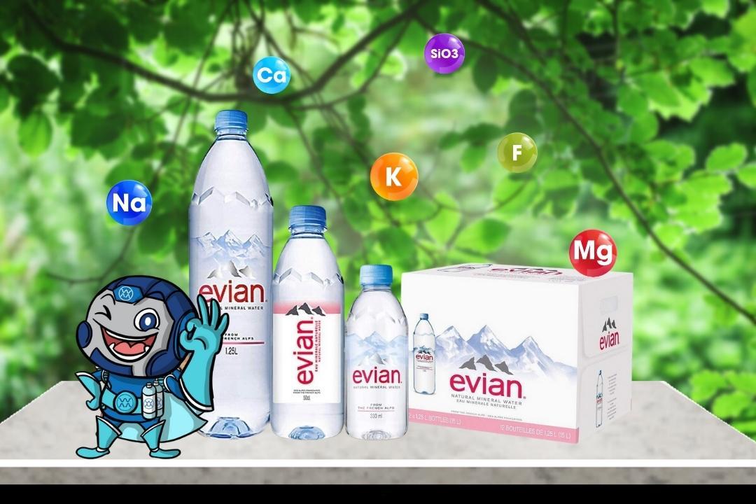 Những điều cần biết về nước khoáng Evian