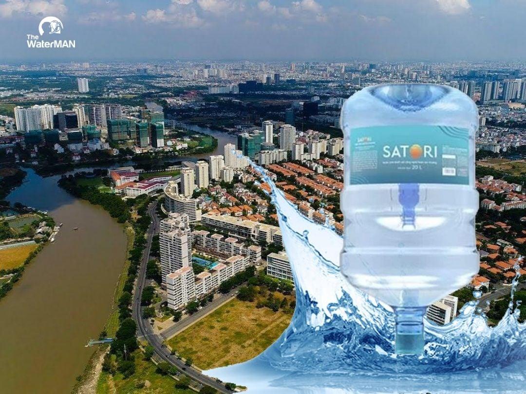 Đại lý nước tinh khiết Satori Quận 7
