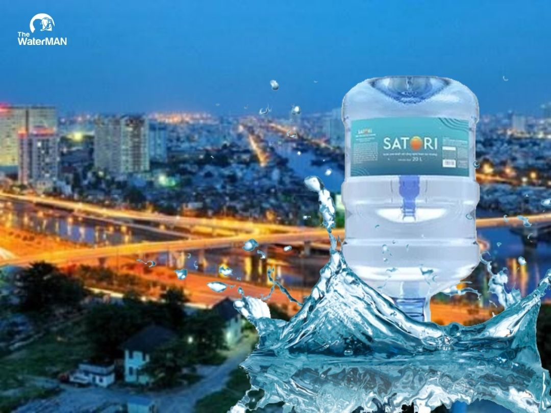 Đại lý nước tinh khiết Satori Quận 8
